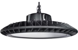 Black Housing UFO LED High Bay Light 120LM / W 60W 120 Degree Beam Angle