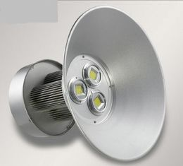 100W / 150W Commercial LED High Bay Lighting Aluminum Alloy Grey Cover