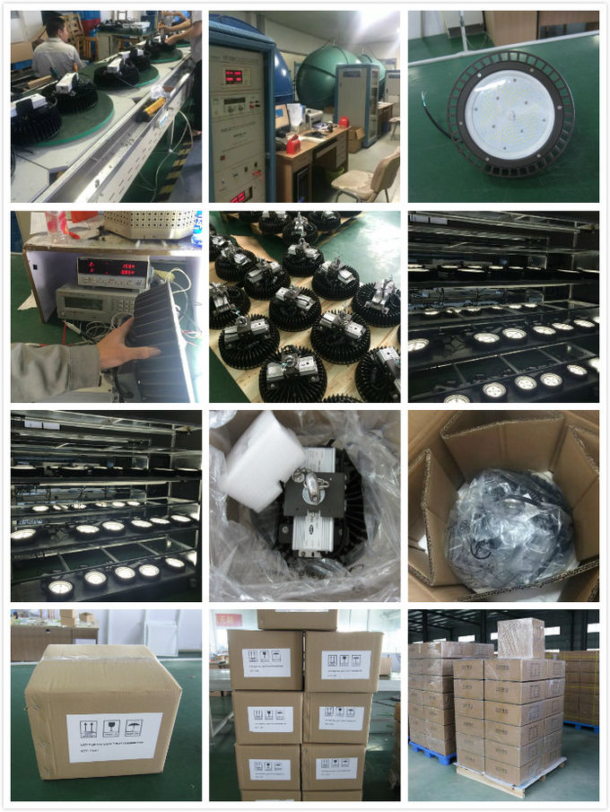 Die Casting Aluminum Alloy Industrial High Bay LED Lighting 300W For Warehouses